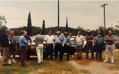 A meeting of the Burdekin Catchment Advisory Committee in 1999