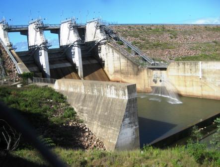 Ross River Dam Gates