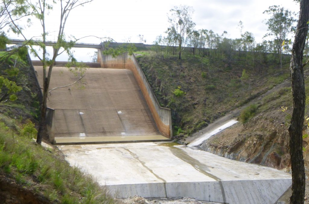 Fred Haigh Dam works completed